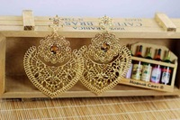 Y-X New Arrival Vintage Royal Handmade Crystal Decoration Dangle Drop Earrings for Women Exquisite Charm Jewelry 1203837