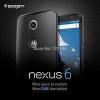 Original Nexus 6 Case Thin Fit, Spigen Premium Urethane Coating Slim & Lightweight Cases for Google Nexus 6 (2014)