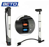 New Arrival!!  BETO Portable Mini Aluminium Alloy Bicycle Bike Air Pump Cycling Tire Inflator Floor Type