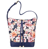 New Design Fashion Handbag,Leather Bag,Bags with colorfull flower