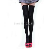 Women Winter stocking 200-pin barreled socks 10colors knee socks ladies cotton boots socks 9419