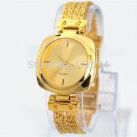 2014 New Arrivals Fashion Women Dress Watches  Stainless Steel fashion luxury Lady watch Wristwatch Free shipping box
