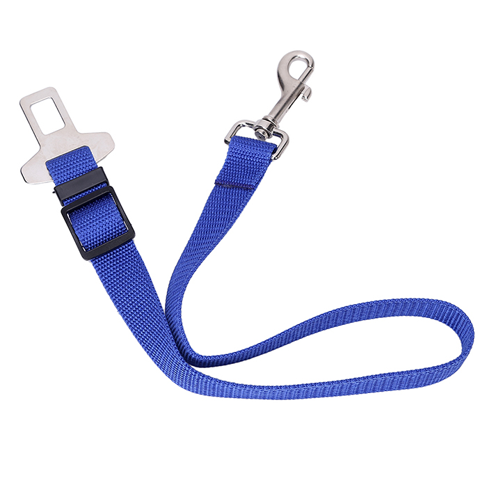 Free Shipping Lefdy New Different Colour Strong pet/Dog Car Travel Seat Belt Clip Lead Restraint Harness Auto traction leads(China (Mainland))