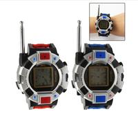 One Pair of Watch 2-Way Radio Watch Walkie Talkie Interphone Toy with Antenna