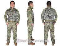 EMERSON Riot Style CAMO Tactical Uniform Set combat uniform Combat Shirt & Pants with elbow & knee pads EM6894R2 AOR2 2014 NEW