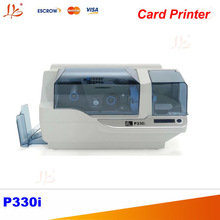 Zebra Single PVC ID card printer P330i, support color printing(China (Mainland))