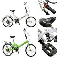 folding bike 20 male and female students Ultraportability cycling speed folding bike mini /W724