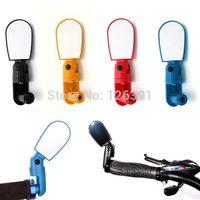Bicycle Cycling Handlebar Rear View Glass Adjustable Bike Bar Mirror
