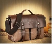 Multifunction Men Leather Canvas Bag Casual Travel Bolsa Masculina Men's Crossbody Shoulder Bag Messenger Bags M217 Loptop