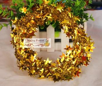 Новый chirstmas гирлянда украшения для дед мороз рождественская елка украшения и подарок 6 цвет смешанный комплект