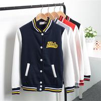 "Good quality! autumn ""women 's Fashion Baseball uniform Jacket Stand collar Thicken Casual Sweatshirt outerwear Women hoodies"