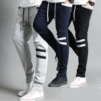Health pants male slim sports pants 2014 autumn male casual pants harem pants long trousers boys