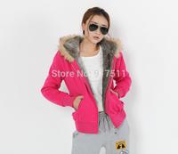 3 Color Manufacture Supply Women hoody winter Coat Sweatshirt Plus Large Fur Hoodies Sweater Women Clothing