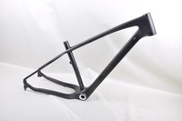 """17.5"""" professional manufacture 26er full carbon snow frame, fat bike frame, inner cable rounting"""