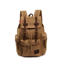 Free shipping Fashion Vintage Canvas Backpack mountaineering backpack school bag
