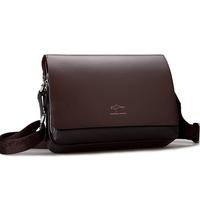 free Shipping Big Promotion Men Messenger Bags, Genuine Leather Shoulder Bag