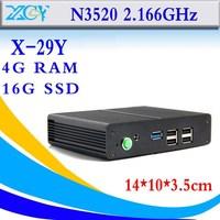 Hot on sell intel celeron N3520 4GB RAM 16GB SSD latest desktop computers mini desktop computer hdmi support full screen movies