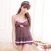 2014 pyjamas femme for women's nightwear pijamas para mujeres brand sexy lace pajamas sleep clothing to home sets feminino