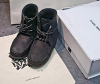 F/W2014 ISABEL MARANT Snow Boots Australia Sheepkin Real Fur 100% Wool women winter boots 1111 promotion Sale