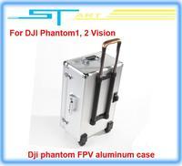 Free Shipping Dji phantom FPV Professional aluminum case box outdoor protection for DJI Phantom 2 Vision X350 pro easy to carry