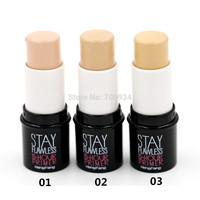Stick Foundation makeup Studio Fix Foundation 2pcs Perfect Concealer Stick Face Primer Base 8023