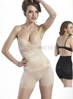 Shapewear Women's Seamless High Waist Boyshort Slimmer Tummy Control Black Beige