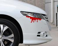 2 PCS Auto Car Reflection Red Tear Blood Headlight Sticker Rear light Decal Body Headlamp Sticker Fit For Pool Golf A4 A6 M3 M5