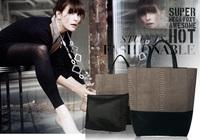 New arrived High Quality Leather Women Handbag Fashion Brand Cowhide Shoulder Bag Women Crocodile Snake Pattern Large Bags