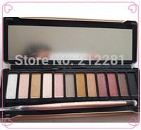 Factory Direct!24 Pieces/Lot New Makeup NO:5 Palette 12 Colors Eyeshadow Palette!12x1.3g .