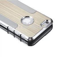 *100pcs/lot *Luxury Bling Aluminum Diamond Chrome Hard Case Deluxy For iPhone6 4.7inch