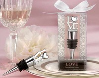 red wine bottle stopper Plugger love Exquisite gift box for wedding guests party etc  Wholesale