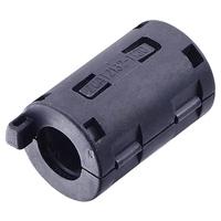 10pcs TDK Filter Ferrite Core 11mm Clip On / Black 12767