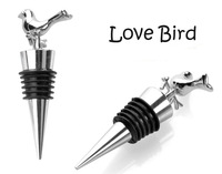 red wine bottle stopper Plugger Love Bird Exquisite gift box for wedding guests party etc CN post