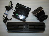 Volkswagen VW Original Chrome Air Vent With LED Red Light 3pcs/set + Cables (fits for Passat B6 B7 B7L CC R36)