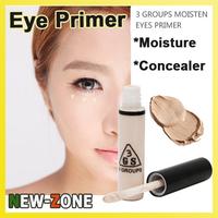 Deep Moisten Eyes Primer Eyeshadow Makeup Base Cream Concealer Dark Eyes Moisturizing Eyes Skin Soft Silky Texture 10ML