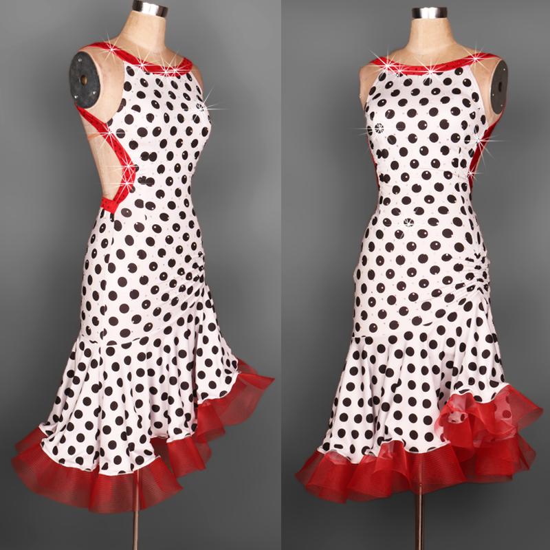 Jive chacha dance dress sumba dress from reliable dress types