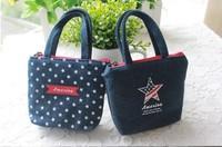 Small Canvas Bag Women Tote Bag Ladies Casual Handbag Keys Change Coin Purse Gift Bag Good Quality Style