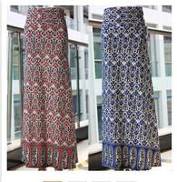 2014 eBay aliexpress fashion women's Vintage Floral Dress Skirt