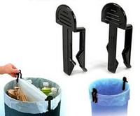 1400packs/lot 2pcs/pack Useful Home Accessories Garbage Bag Holder Trash Bin Clips