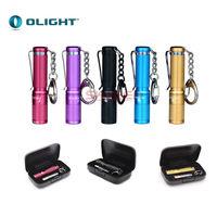 Olight I3s EOS Colorfull Flashlight Olight AAA Battery Xp-G2 LED Key Chain Torch