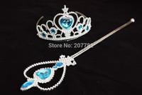Frozen Crowns for Baby Girls Frozen Elsa Anna Crown High Quality Children Party Crowns Girl's Queen Crown