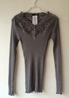 Europe and the United States of big shop sign of new fund of 2014 autumn winters long-sleeved render unlined upper garment