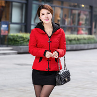 Factory wholesale women's down jacket 2014 new female slim short money down jacket XL down jacket women