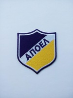 high-end 2014 UEFA CHAMPIONS LEAGUE logo 32teams APOEL Nicosia FC appliques sons anarchy patches iron on patches for clothing