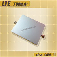 Free shipping! 4G Mobile phone signal LTE 700MHz Repeater Booster amplifier LTE repeater 700MHz signal booster receiver  host