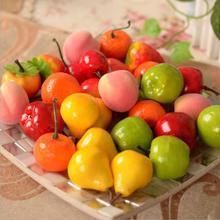 New 2014 10PCS Artificial Decorative Plastic Fruit Home Decor Garden House Kitchen(China (Mainland))