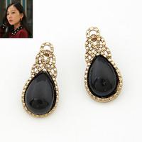 Vintage Style Stud Earrings for Women Fashion Teardrop Ethnic Brincos Grandes Pendientes De Festa Jewelry Bijuterias 2014