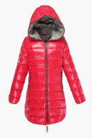 New Winter Women Duvetica Down Coats Jackets Fur Collar Female Outerwear Camping Lady Mountaineering Sportwear