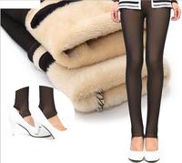 2014 New Winter Leggings For Women inside Thicken Casual Warm Faux Velvet Legging Womens Winter Plus Size Pants Hot Sale