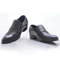Fashion Spring/Autumn Flat Basic Casual Men Slingback Shoes Soft Genuine Leather Shoe Black White Yellow 1 Pair Free Shipping